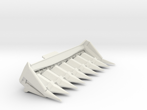 L/M 8 Row vintage head in White Strong & Flexible