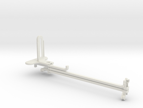 Bike Mount tripod & stabilizer mount in White Natural Versatile Plastic