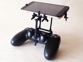 PS4 controller & Adjustable in Black Natural Versatile Plastic
