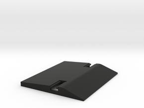 HP Classic Calculator Battery Door in Black Natural Versatile Plastic