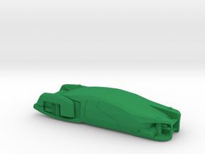 Hover Car, Chrysler (Total Recall), 1/64 in Green Processed Versatile Plastic