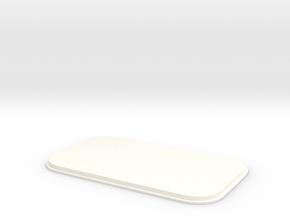 Closed Skylight D90 D110 Team Raffee in White Processed Versatile Plastic
