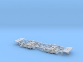 #00U Drehgestell Wegmann 15 Universal-Adapter in Smooth Fine Detail Plastic