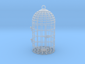 Unruly Dice Cage in Smooth Fine Detail Plastic: Small