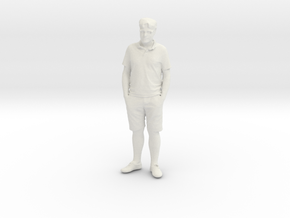 Printle C Homme 116-w/o base in White Strong & Flexible