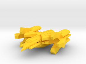 Colour Royal Falcons Flightless Hunter Killer in Yellow Processed Versatile Plastic