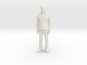 Printle C Homme 124 - 1/24 - wob in White Natural Versatile Plastic