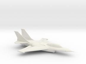 Printle Thing Plane 01 1/24 in White Natural Versatile Plastic