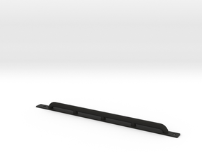 Rock protection side bar D90 Team Raffee in Black Natural Versatile Plastic