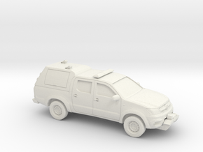 1-87 Toyota Hilux Royal Airforce Mountain Rescue in White Natural Versatile Plastic