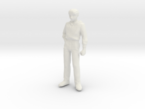 1/24 Modern Figure Standing in White Natural Versatile Plastic