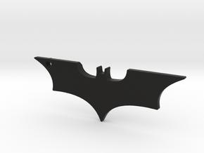 Batman Logo in Black Natural Versatile Plastic
