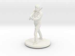 Printle C Homme 001 - 1/64 in White Natural Versatile Plastic