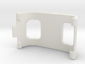 Garmin Montana / Monterra Holder V08, Part 1 in White Natural Versatile Plastic