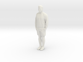 Printle C Homme 153 - 1/24 - wob in White Natural Versatile Plastic