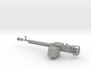 DShK Machine gun 1:25 scale in Raw Aluminum