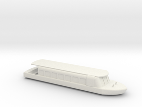 EPCOT Friendship Boat in White Natural Versatile Plastic