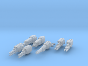 WoB Beam Weapon Pack B in Smooth Fine Detail Plastic
