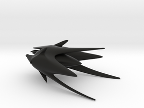 Shadow Fighter (Babylon 5), 1/270 in Black Natural Versatile Plastic