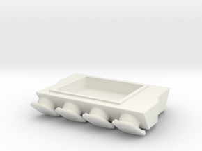 Mountain Motor 6-71 Blower Manifold 1/25 in White Natural Versatile Plastic