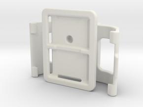 Garmin Montana / Monterra Backpack Holder V08 in White Natural Versatile Plastic