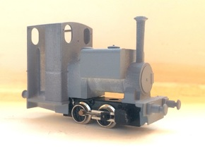 009 Kerr Stuart 'Wren' - Enclosed Cab (4mm Scale) in Frosted Ultra Detail