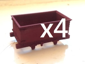 009 Corris Rly 'Queen Mary' X4 in Frosted Ultra Detail