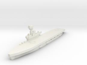 HMS Hermes 1/2400 in White Strong & Flexible