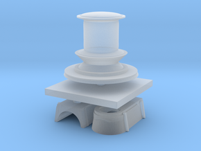1:200 Navy Capstan in Smooth Fine Detail Plastic