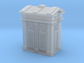 Edinburgh Police Box 2mm/ft Scale in Frosted Ultra Detail