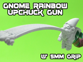 Gnome Rainbow Upchuck-Gun (5mm) in White Natural Versatile Plastic