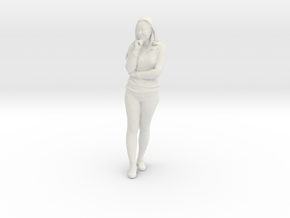 Printle C Femme 253 - 1/24 - wob in White Natural Versatile Plastic