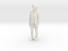 Printle C Femme 258 - 1/24 - wob in White Natural Versatile Plastic