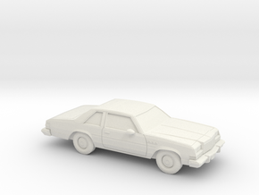 1/64 1977-78 Buick LeSabre Coupe in White Strong & Flexible