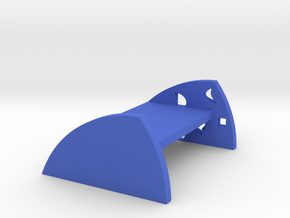 Modeling wooden bed in Blue Processed Versatile Plastic