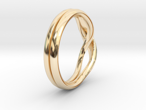 Eternity-ring in 14K Yellow Gold: 11 / 64
