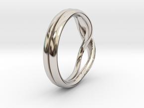 Eternity-ring in Rhodium Plated Brass: 11 / 64