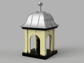 Roof Cupola (tower) in Smooth Fine Detail Plastic