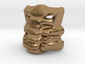 Krana Xa in Natural Brass