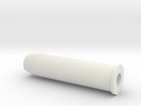 Revolver Shell in White Natural Versatile Plastic
