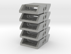 10 Truck Steps (for 1/64 Applications) in Metallic Plastic