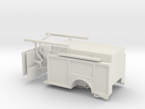 1/64 KME Camden engine body updated in White Natural Versatile Plastic