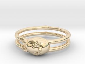 Ring Boy in 14k Gold Plated Brass