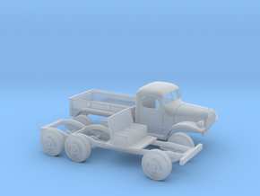 1/87 1945-50 Dodge Power Wagon 6X6 in Frosted Ultra Detail
