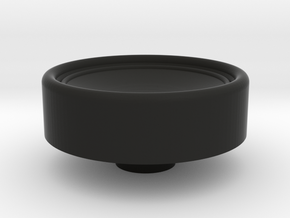 Russian HAT knob in Black Natural Versatile Plastic