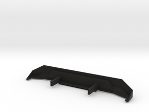 SCX10 Rear Bumper in Black Natural Versatile Plastic