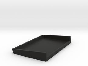 Battery Cover Lipo Bottom in Black Natural Versatile Plastic