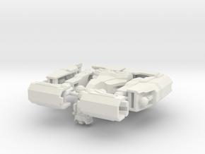 Trivia the Cruciverbalist in White Natural Versatile Plastic