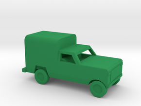 1/200 Scale Dodge Pickup Coverd M880 in Green Processed Versatile Plastic