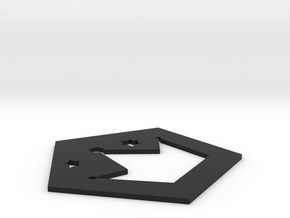 Insulation pads in Black Natural Versatile Plastic